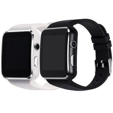 хир форма в Кыргызстан: АКЦИЯ! Смарт часы X6!!!   Общие характеристики ЕТ Х6.  Форма корпуса ч