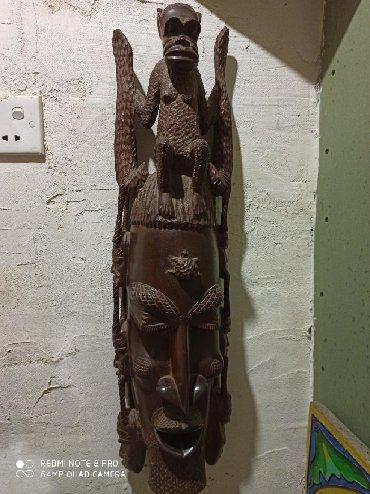 вешалка из дерева в Азербайджан: Маска ручной работы из железного дерева