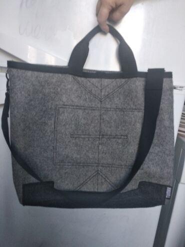 """сумка juicy couture в Кыргызстан: Новая сумка фирма """"Тумар""""войлочная. Высота 35 см. Длина 40 см"""