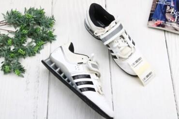 Мужская обувь - Украина: Штангетки Adidas Adipower, р. 40, 00151   Состояние хорошее, есть след