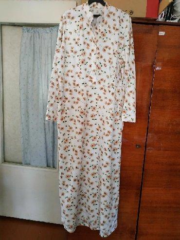 Женская одежда в Кызыл-Кия: Платье в пол,летнее размер 46-48