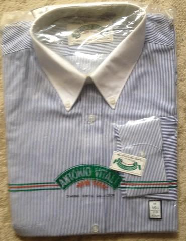 Продаю новые рубашки, размер по вороту 42, состав 65 % полиэстр + 35 %