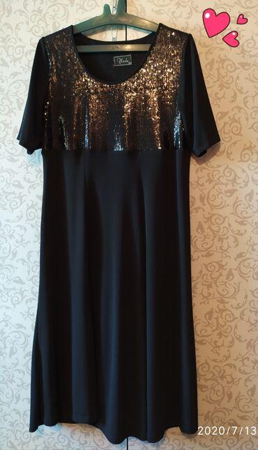 вечернее женское платье в Кыргызстан: Платье женское ТУРЦИЯ в хорошем состоянии.48-50 размер.1000