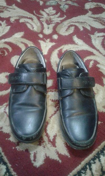 Продаю туфли б/у.на мальчика  29 р.не много носок сбит.  в Бишкек