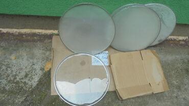 Bubnjevi - Srbija: Prodajem plastike za bubnjeve muzičarima bubnjarima cena 600 dinara po