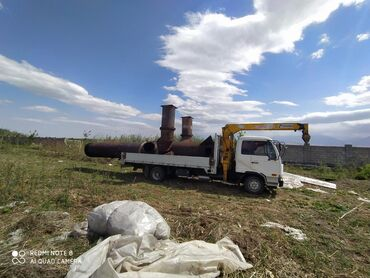 услуги холодильщика в Кыргызстан: Кран | Стрела 8 м. 3 т | Борт 5 т