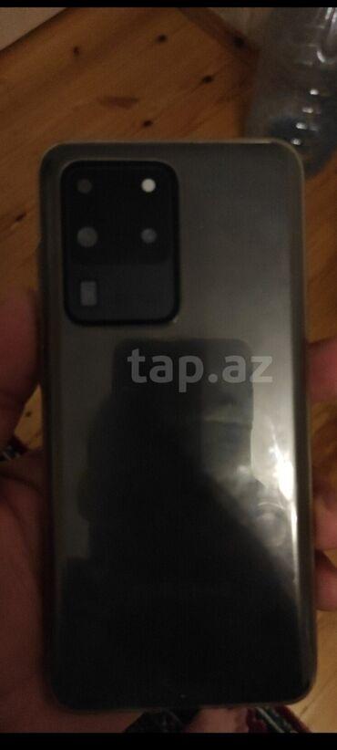qirqovul satiram в Азербайджан: Б/у Samsung Galaxy S20 Ultra 512 ГБ Черный