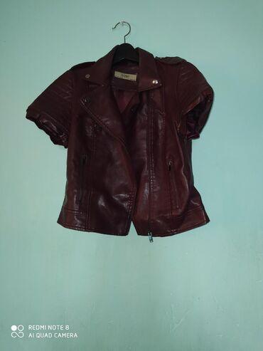 Куртки - Кок-Ой: Косуха размер 48, съёмные рукава состояние очень хорошее прошу 800