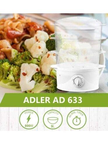 Jaja - Srbija: Aparat za kuvanje na pari AD633Samo 3300 dinara.Porucite odmah u Inbox
