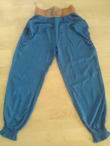 Pamucne pantalone nenosene samo oprane vel.XL - Bajina Basta