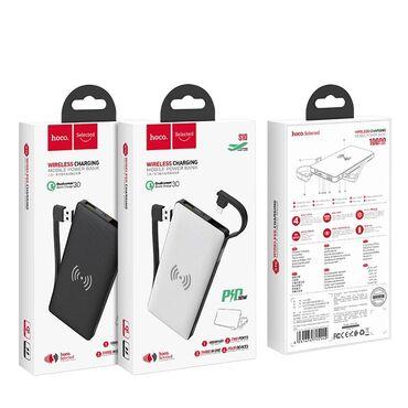Original Hoco S10 Wireless power bank 10000 mah.Elave 1 usb