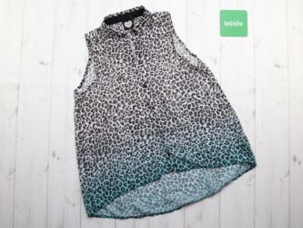 Красивая леопардовая женская блузка CATWALK JUNKIE,р.XS Длина: 70 см П