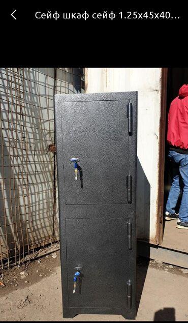Сейфы - Кыргызстан: Сейф сейф сейфМеталлические шкафыРазмер 42 На заказ любые