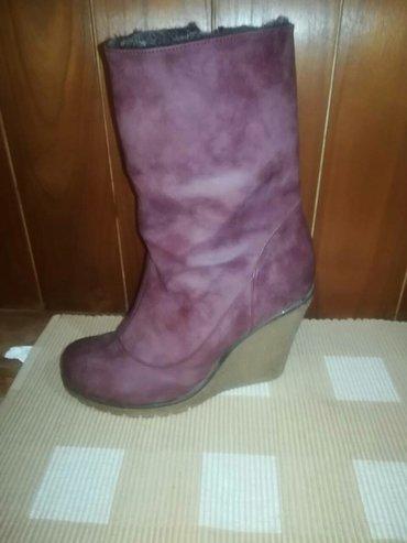 Ženska obuća   Ivanjica: Cizme broj 38. Kozne iveoma udobne cizme odgovaraju i broju 39. Malo