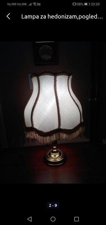 Rasveta | Sombor: Lampa ko bombona