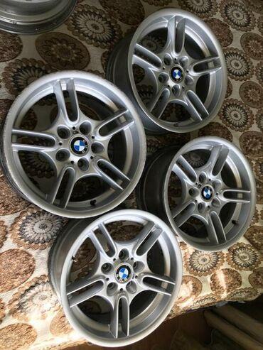 диски 17 бу в Кыргызстан: BMW 66 стиль БМВ комплект разношироких дисков без варки и швов, цена