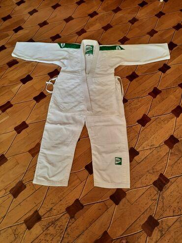 judo - Azərbaycan: Judo ucun Kimano GREEN HILL razmer - 150 YENI
