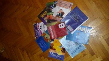 Knjige za 8 razred. Knjige su iz Kraljeva. postarina je 250dinara do - Beograd