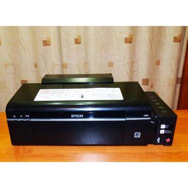 6 цветный принтер epson l800.Заводская донорка, полностью заправлен