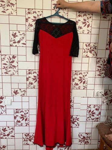 11227 объявлений: Вечернее платье длина в пол. Б/у Очень красиво смотрится. Торг, самов