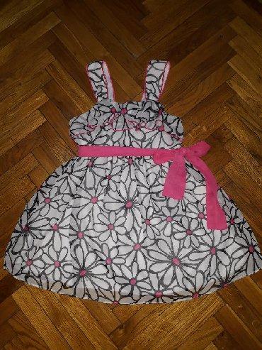 Haljina-sa-rukavotila-duzina-c - Srbija: George haljina, velicina za 2-4 godine. Leprsava haljinica nosena par