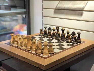 Шахматы - Кыргызстан: ШАХМАТЫ!!! ШАХМАТЫ!!  Классические шахматы со складной доской выполнен