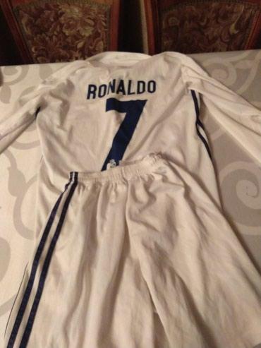 Спортивная форма в Лебединовка: Форма Реал Мадрид 16-17, размер S