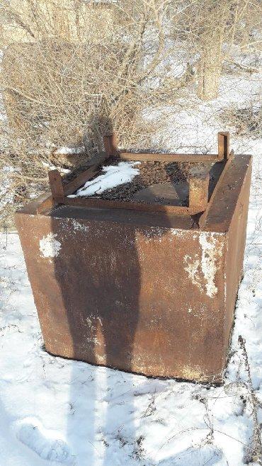 Цистерну 16 кубов - Кыргызстан: Железный куб, размеры 1м×1м×1м