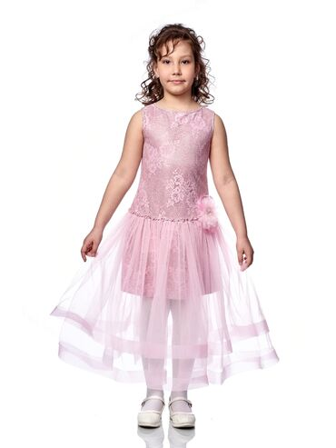 Нарядное платье для девочки  Артикул: Азалия Размеры: 116 - 134, 134 -