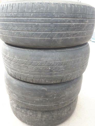 Продаю шины Yokohama оригинал, пара лысые, в Бишкек