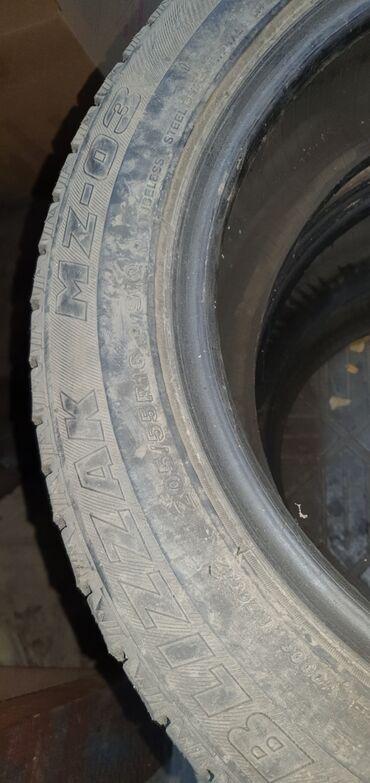 куплю диски на 16 бу в Кыргызстан: Продаю зимние шины 3 шт. 205/55/16