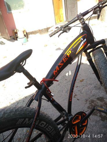 Продаю велосипед с огромными колесами зимний