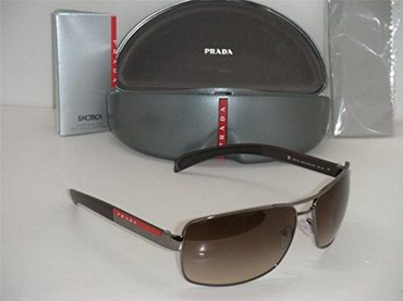Brand New Prada Sport Linea Rossa Sunglasses PS 54I 54IS 5AV6S1 BROWN σε Thessaloniki