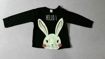 Majice za devojcicu na dug rukav, velicine 9 meseci i godinu dana - Valjevo