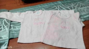 Plisane roze majce ,vel. 68 - Beograd