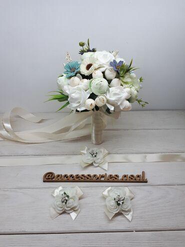 Свадебный букет невесты Цена за набор Цветы искусственные Пишите на