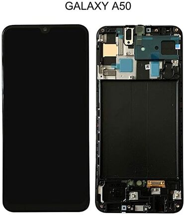 ekranlar - Azərbaycan: Samsung A50 ekran təmiriorijinal service pack ekranlarsensorun