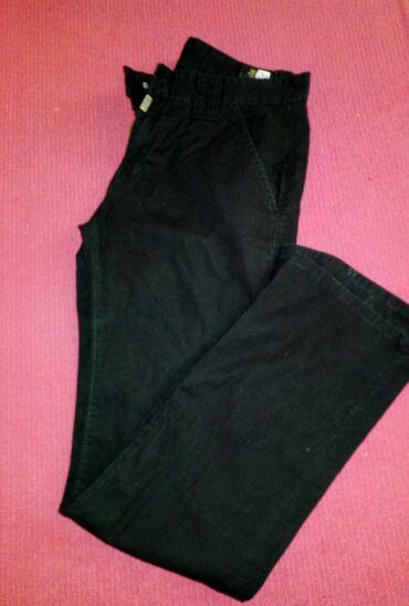 Ženska odeća | Indija: Tanka crne letnje pantalone br.31 obim struka 80cm