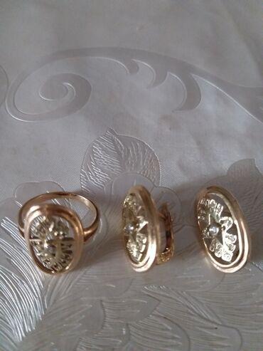 серебряные обручальные кольца бишкек in Кыргызстан   ГРУЗОВЫЕ ПЕРЕВОЗКИ: Продаю набор: золотые серьги и кольцо. Кольцо размер 18. Торг уместен