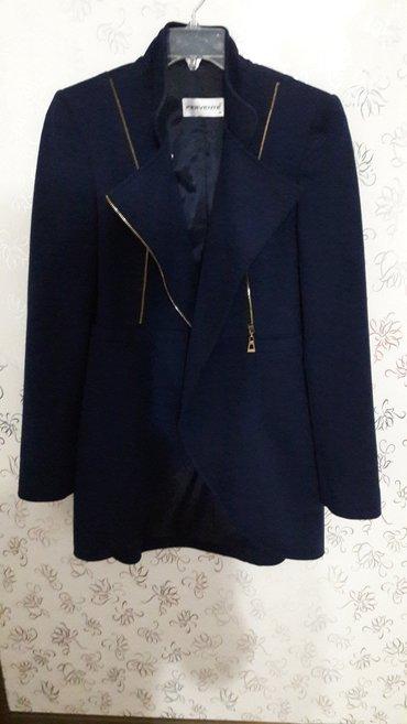 синий пиджак женский в Кыргызстан: Продаю пиджак. сидит очень хорошо. размер 38. производство Турция. 500