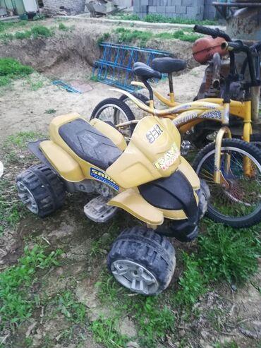 Продаю детский квадроцикл 2wd один мотор неисправен аккумулятор