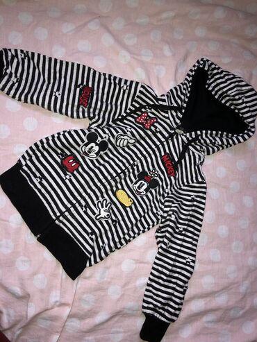 Duks jaknica za devojcice na raskopcavanje za uzrast 4-5 godina  Prele