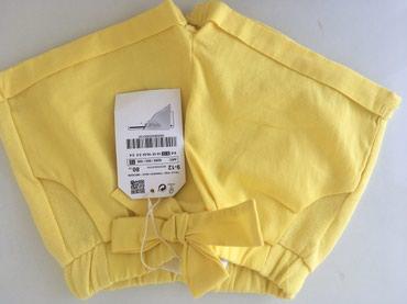 Ostala dečija odeća | Crvenka: Novo Zara sorc za devojcice, velicina 80, 9-12m