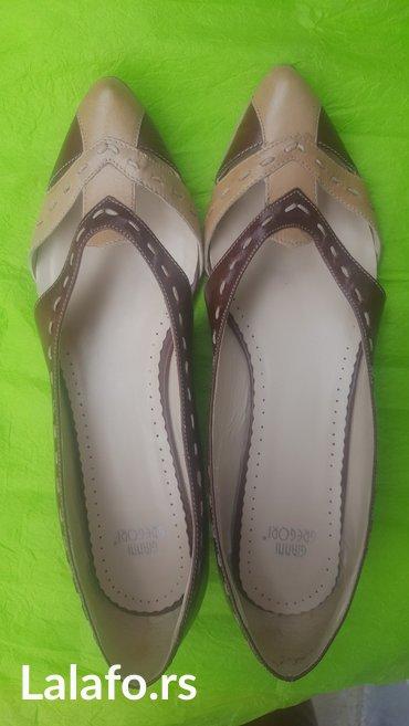 Ženska obuća | Novi Banovci: Kozne cipelice br 39 sa malom stiklicom. Skroz ocuvane