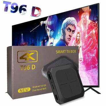android tv box - Azərbaycan: Tv box t96 android smart tv box ip original android smart tv box 4k