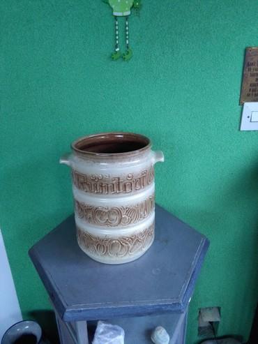 Rumtopf posuda velikaaaa, 27 cm.made in w.germany ko voli neobicne - Sombor
