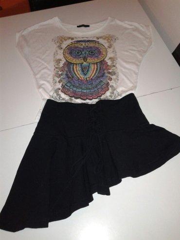 Sako suknja komplet - Srbija: Suklja u kompleti sa majicom. Velicina s