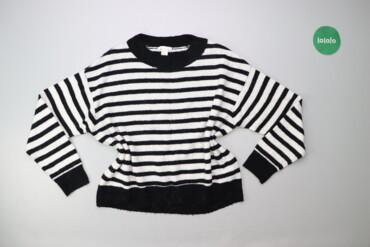 Жіночий светр у смужку H&M р. М    Довжина: 56 см Довжина рукава