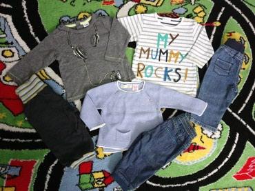 NextBaby, BluKids i Zara majice + George i Kanz pantalonice (vel. - Pozarevac
