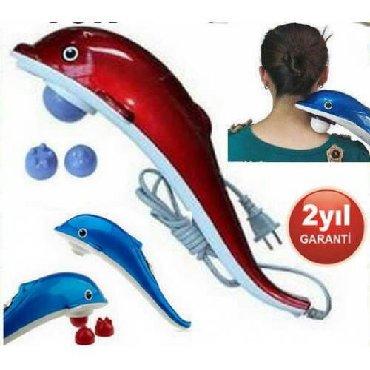 Delfin masaj aparatı. 3 fərqli başlığı var. Bədənin hər yerinə çatır